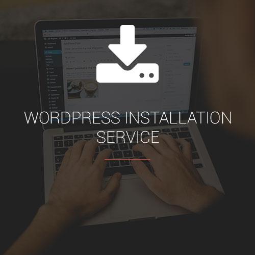 WordPress Installation Service Product Image