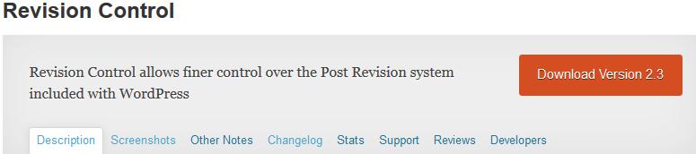 revision-control-plugin