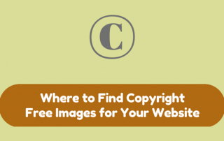 Where to Find Copyright Free Images