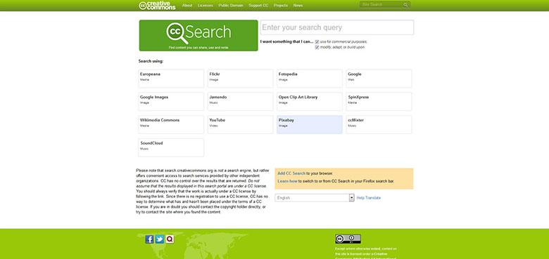 creative commons website