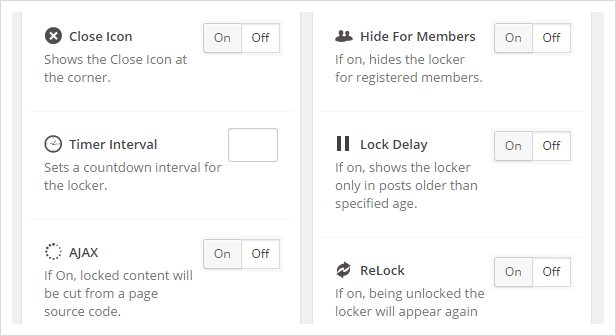 additional opt-in panda features