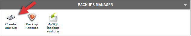 siteground cpanel backup manager