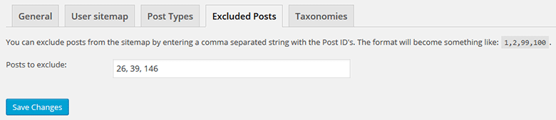 Exclude Posts and Pages from Yoast's XML Sitemap