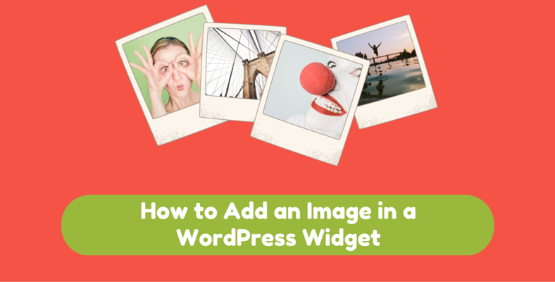 How to Add an Image in a WordPress Widget