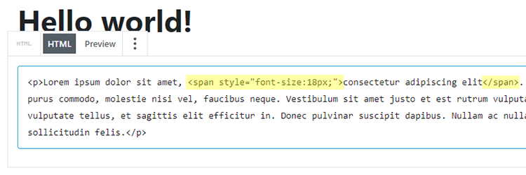 How to Change the Font Size in WordPress via Plugin or HTML