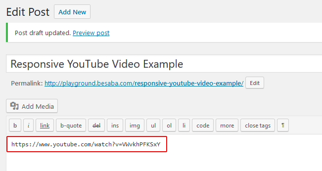 How to Make Embedded YouTube Videos Responsive in WordPress