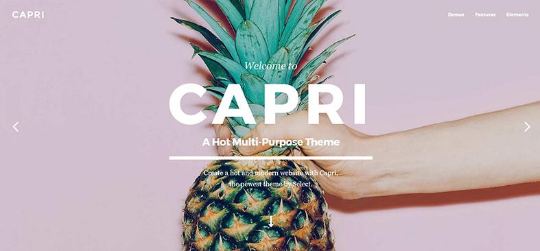 Capri theme