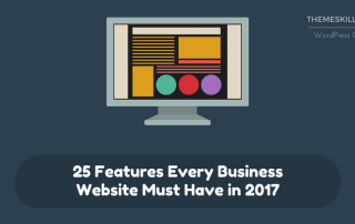 25 Features Every Business Website Must Have in 2017