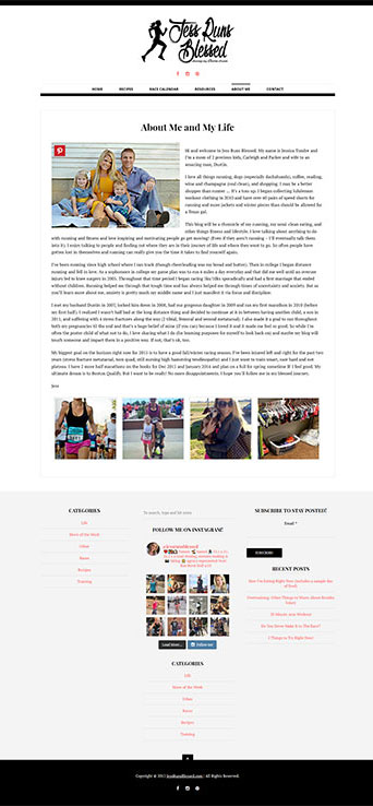 JessRunsBlessed About Page