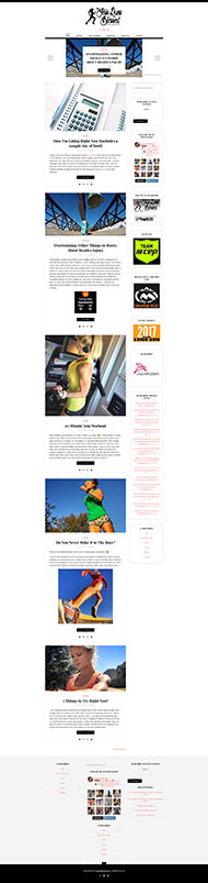 JessRunsBlessed Homepage