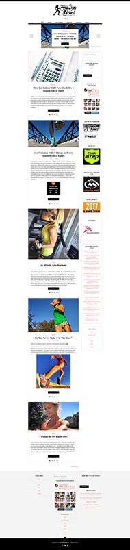 JessRunsBlessed Homepage
