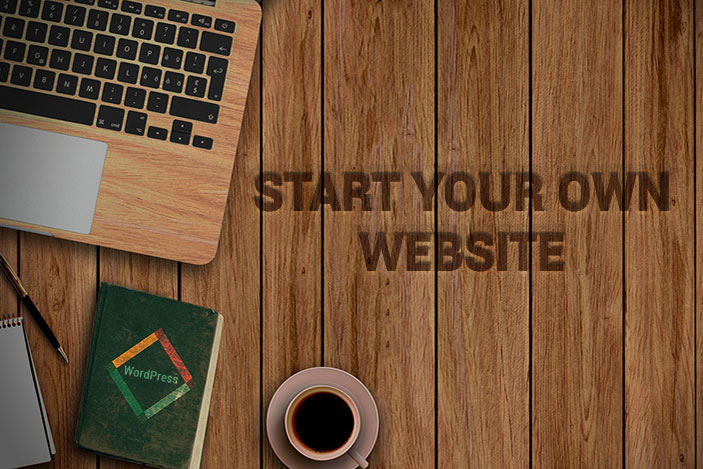 Start your own WordPress website