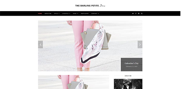 TheDarlingPetiteDiva Homepage Featured