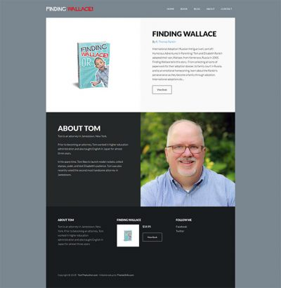 TomTheAuthor Homepage