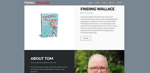 TomTheAuthor Homepage Featured