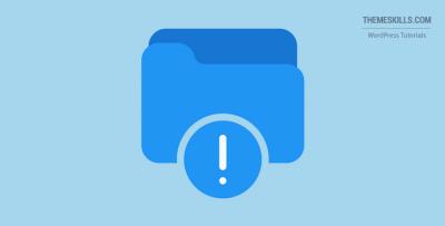 error notification folder