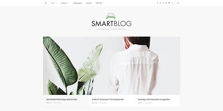 Smart Blog Theme