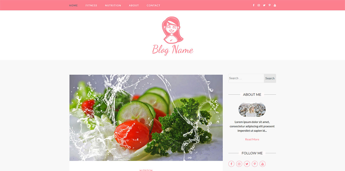 ready-made feminine wordpress blog