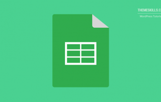 spreadsheet table