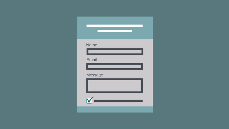 contact form consent checkbox