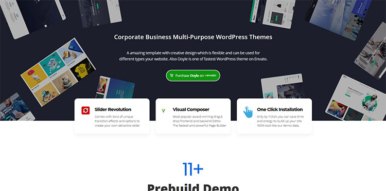 doyle wordpress theme