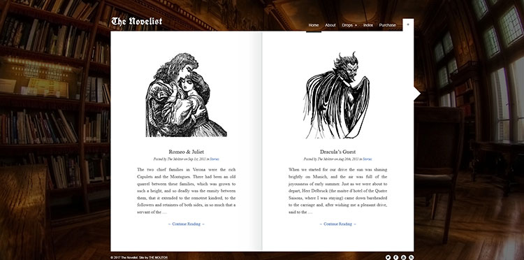 the novelist wordpress theme