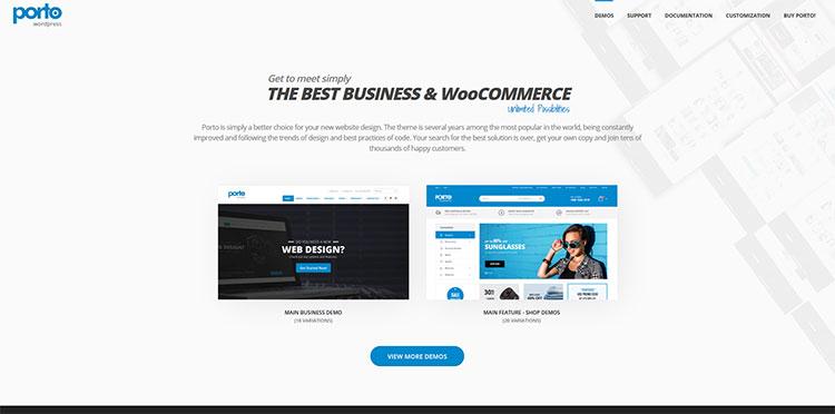 porto premium ecommerce wordpress theme