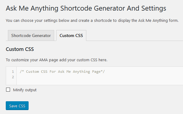 ask me anything wordpress plugin css