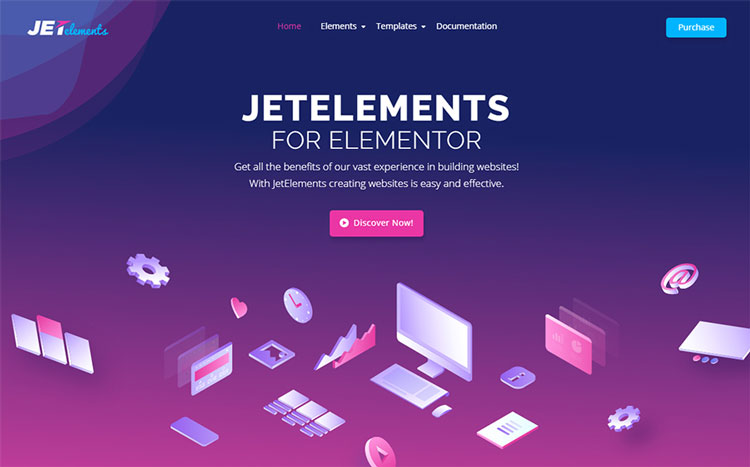 jetelements wordpress elementor add-on