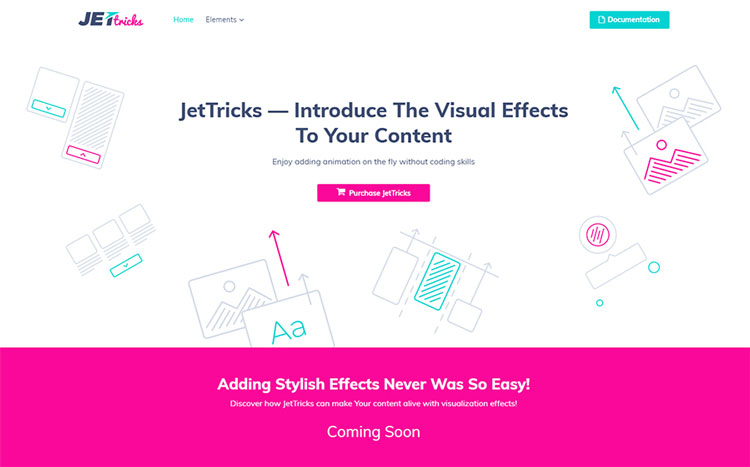 JetTricks wordpress elementor add-on