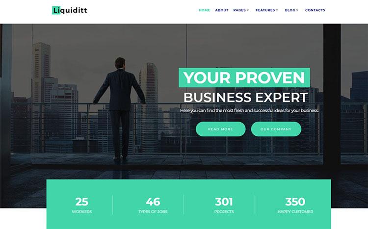 algorithm elementor business wordpress theme