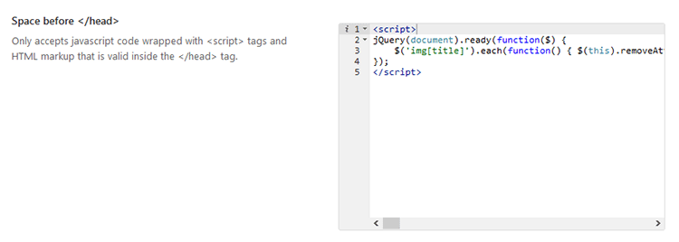 avada code to remove image title on hover