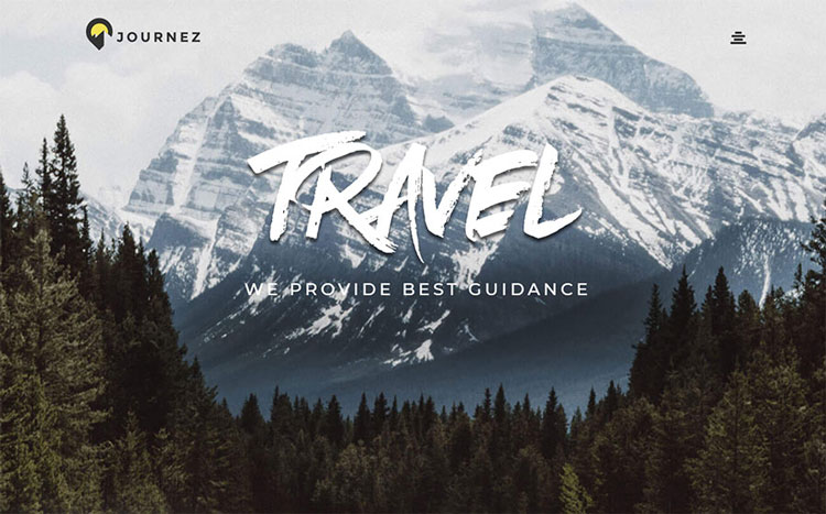 journez wordpress travel theme