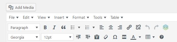 tinymce advanced plugin visual editor wordpress