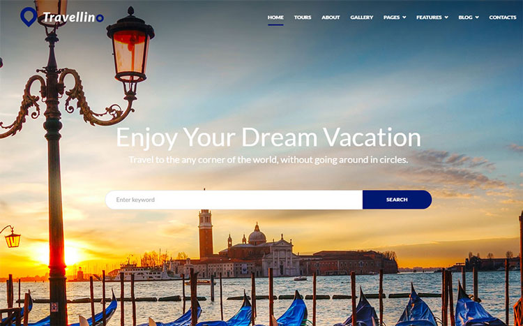 travellino wordpress travel theme