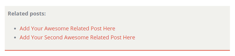 related posts box css
