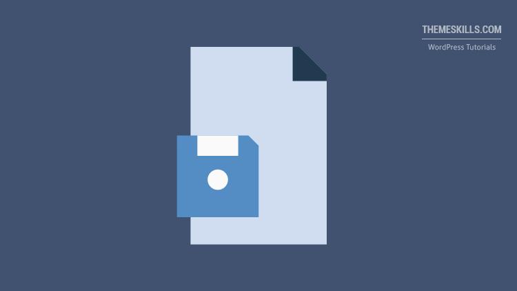 autosave file