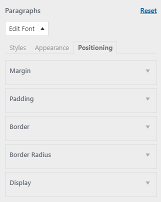 easy google fonts plugin positioning