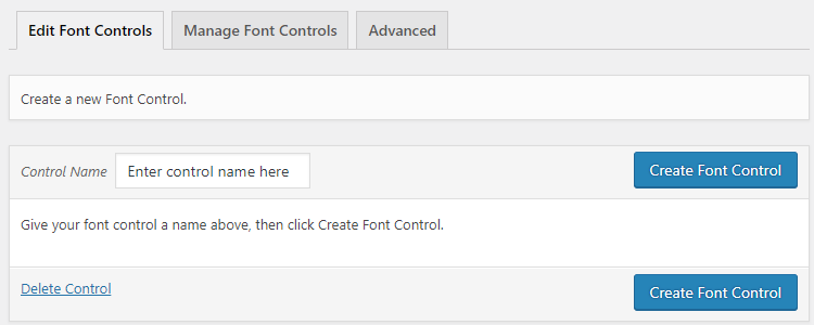 easy google fonts plugin font controls