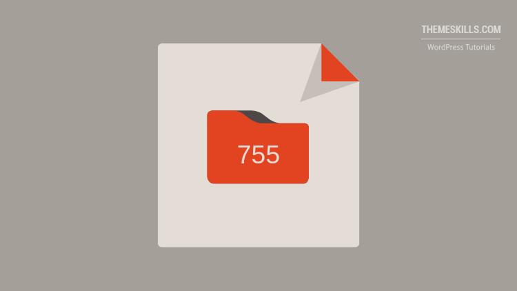 folder permission 755