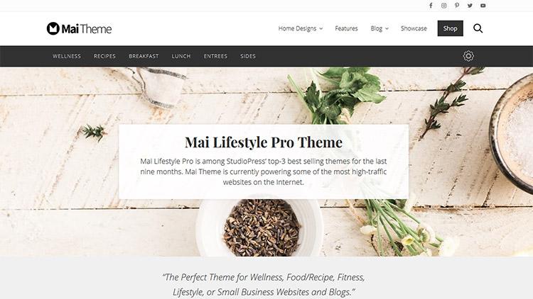 mai lifestyle pro theme