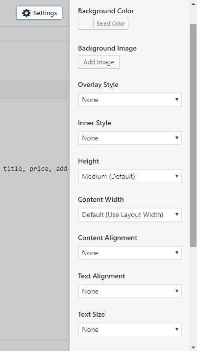 mai lifestyle pro theme sections settings