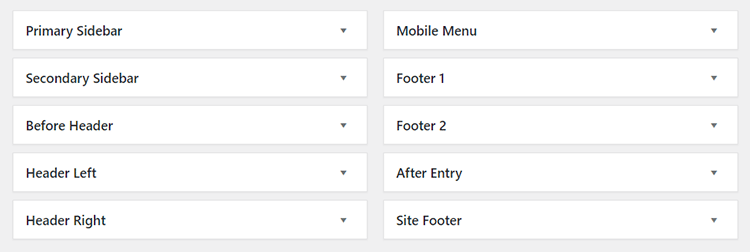 mai lifestyle pro theme widgets
