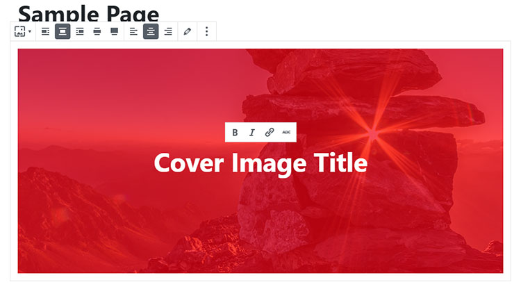 cover image red background