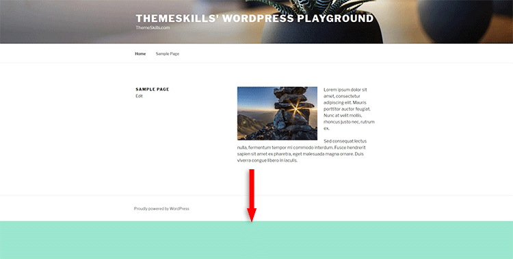 How To Change The Background Color Of A Single Page In Wordpress Themeskills