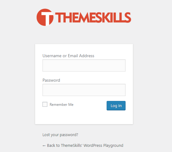 custom logo wordpress login page