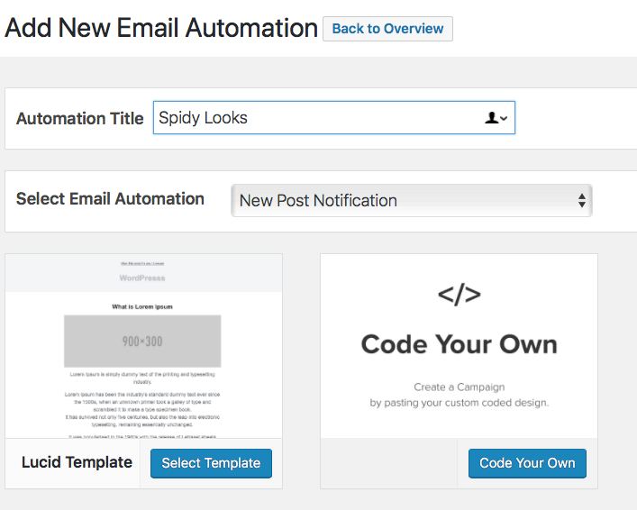 email automations mailoptin