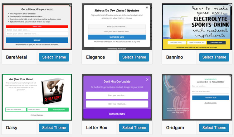 mailoptin themes