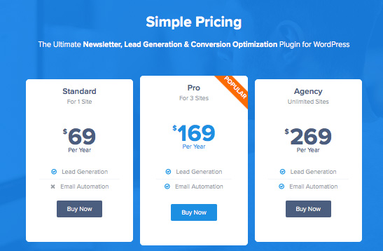 mailoptin pricing