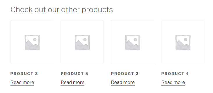 changed woocommerce related products text
